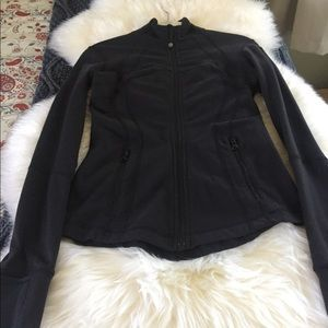 Lululemon Black Define Jacket, Size 4